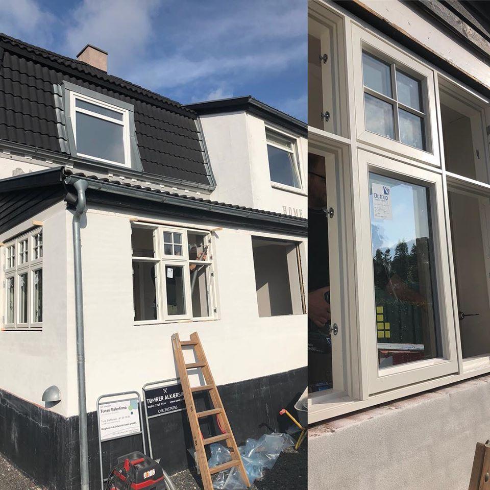 Nye vinduer isat